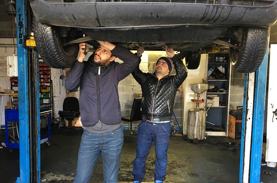 Le garage solidaire du bassin minier euralens for Garage solidaire lens